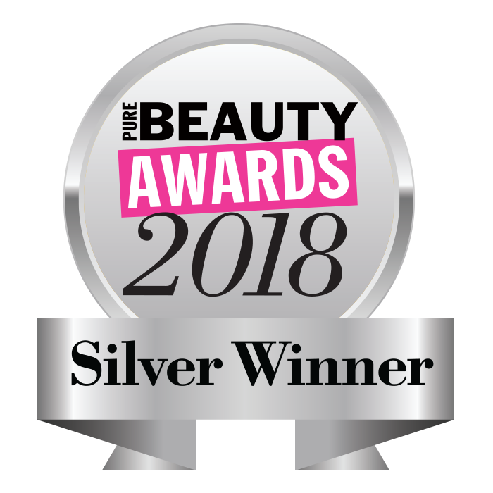 Pure Beauty awards 2018 silver urban veda